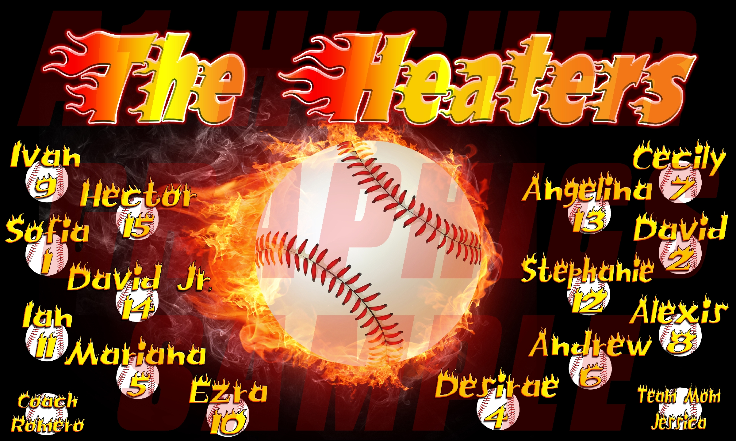 The Heaters Banner