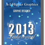 A-1 Higher Graphics Wins Best Graphic Design in 2013