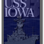 A-1 Higher Graphics Does USS Iowa Display